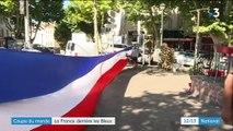 Coupe du monde : la France derrière les Bleus