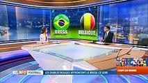 Brésil-Belgique: France ou Uruguay? Qui ira en 1/2 finale?