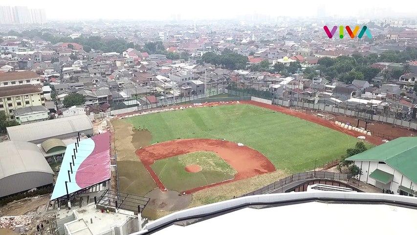 Terbaik di Asia, Ini Bentuk Akhir Velodrome Jakarta