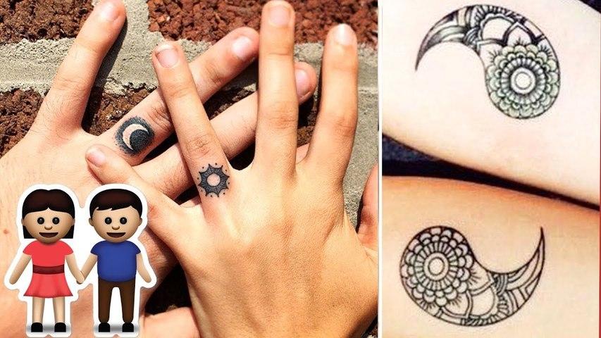 Los mejores tatuajes en pareja que jamás verás by rolloid