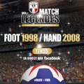 Matche des Légendes - Handball 2008 vs Football 1998