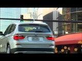 BMW X3 xDrive35i Driving scenes city