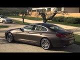 BMW 6 Series Gran Coupé 640d and BMW 6 Series Gran Coupé 640i Exterieur Design