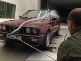 BMW 3series Convertible 1987 in the Wind Tunnel