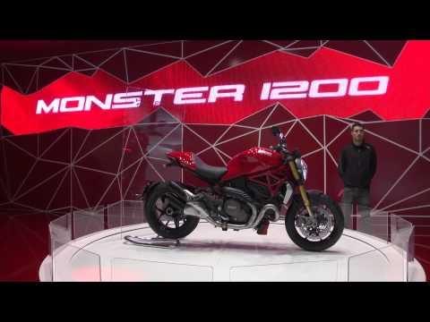 Ducati Live EICMA 2013 – Ducati Monster 1200 | AutoMotoTV