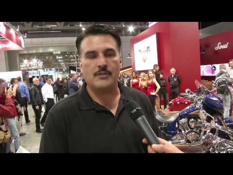 Interview Steve Minetto, Indian Motorcycles | AutoMotoTV