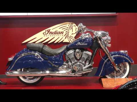 Stand Indian Motorcycles at EICMA 2013 | AutoMotoTV