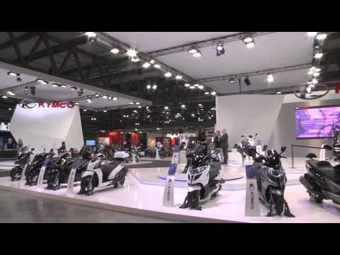 Kymco live at EICMA 2013 | AutoMotoTV
