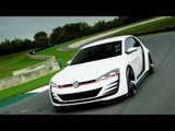 VW Design Vision GTI Driving Review | AutoMotoTV