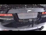 Aston Martin DB9 Carbon Black at Geneva Auto Show 2014 | AutoMotoTV