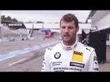 BMW DTM Test Drive in Hockenheim 2014 - Interview Martin Tomczyk | AutoMotoTV