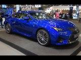 Lexus RC F at Madrid Motor Show 2014 | AutoMotoTV