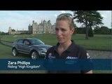 Zara Phillips Receives The First Range Rover Evoque