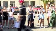Interview lieutenant Jammet et lieutenant colonel Petit au centre de secours de Martigues