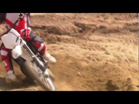 Husqvarna CR125  Riding scenes