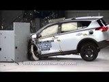 Crash protection - Vehicle improvements 2015 Toyota RAV4 Crash Test   AutoMotoTV