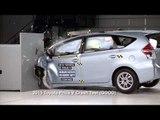 Crash protection - Vehicle improvements 2015 Toyota Prius V   AutoMotoTV
