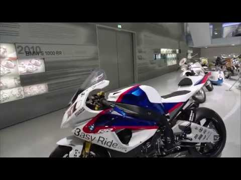 BMW Museum Several BMW racing motrocycles BMW S 1000 RR, BMW F 650 RR, BMW R 80 GS | AutoMotoTV