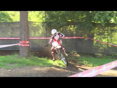 Husqvarna TE250R. Riding scenes