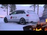 Audi RS 3 Sportback Trailer on Snow   AutoMotoTV