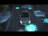 Bright future - Nissan Leaf is first glow-in-the-dark car to drive glowing highway | AutoMotoTV