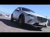 All-new Mazda CX-3 Sneak Peek 2015 Exterior Design in Ceramic White | AutoMotoTV