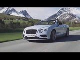 Bentley Continental GT V8 S Convertible in Jetstream Preview | AutoMotoTV