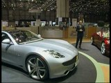 Fisker Automotive Press conference at Geneva Motor Show 2009