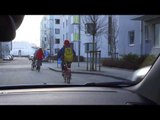 Emergency Brake Assist with automatic pedestrian and cyclist detection