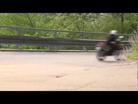 Husqvarna Terra 650. Riding scenes