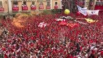 Début des fêtes de la San Fermin à Pampelune (2)