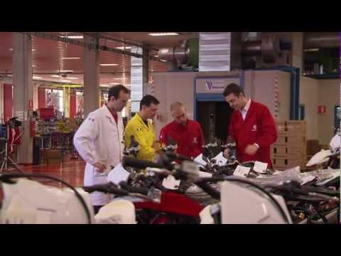 Husqvarna Motorcycles. Giuseppe Manacorda — Plant Manager