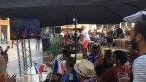 Angers fête la victoire des Bleus en quarts de finale de la Coupe du monde