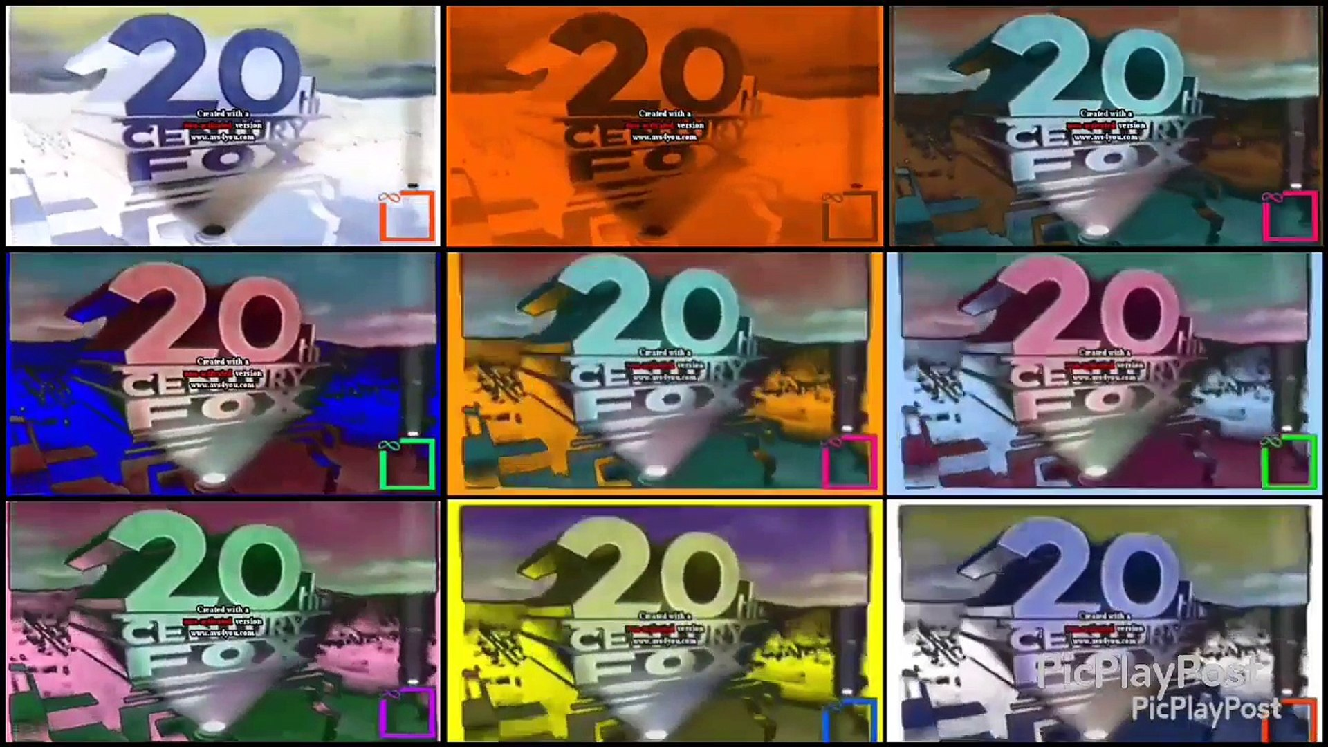 {YTPMV} 20th Century Fox Home Entertainment 1995 Scan Nineparison (AVS  Version)