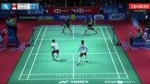 Marcus Gideon/kevin sanjaya vs Mads Conrad/ Mads Pielen indonesia vs Denmark | Indonesia Open 2018