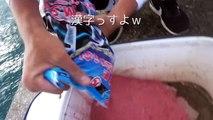 海蛇とヤシガニで滋養強壮最強野菜スープを作る![宮古GT狙い 4/6]