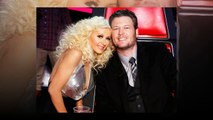 Christina Aguilera: 'It's really cute' that Blake Shelton and Gwen Stefani found love on The Voice