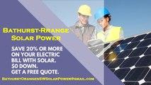 Affordable Solar Energy Bathurst-Orange NSW - Bathurst-Orange Solar Energy Costs