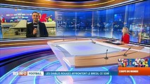 Brésil-Belgique: les Diables Rouges ont rendez-vous avec l'Histoire