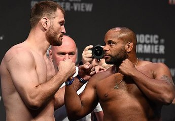 UFC 226: Weigh-in Faceoffs