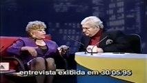 Jô Soares Onze e Meia entrevista Dercy Gonçalves - SBT 1995