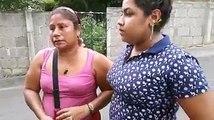 """Familias de Tipitapa llegan a """"El Chipote"""" a buscar a sus hijos, antimotines que desmontaron los tranques en esa zona los sacaron de sus casas ilegalmente. Nadi"""