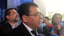 Magistrados del Tribunal Supremo Electoral, interponen aviso ante la FGR por amenazas, algunas incluso a muerte, señala el presidente, Julio Olivo, por integran