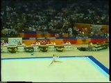 Diana SCHMIEMANN (FRG) hoop - 1988 Seoul Olympics AA final