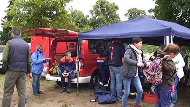 Wettbewerb der Jugendfeuerwehr Sachsen in Torgau