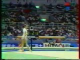 Joana JUAREZ (ESP) floor - 1995 Sabae worlds EF