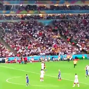 World Cup Final Streaker