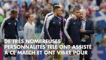 PHOTOS. Coupe du Monde 2018 : Nagui, Michel Cymes, Hervé Mathoux… les personnalités télé à fond derrière les Bleus !