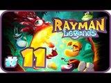 Rayman Legends Walkthrough Part 11 (PS4) Co-op No Commentary