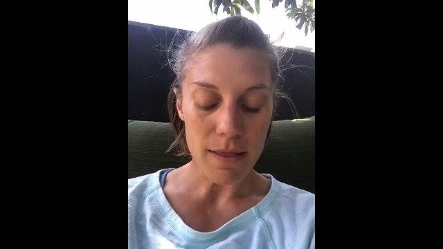 The Flash Star Katee Sackhoff Instagram Stories 06-07-2018